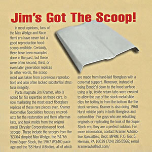 Jim's Got The Scoop